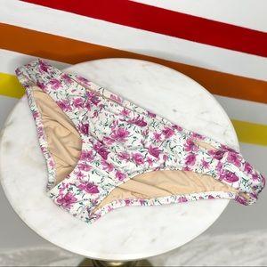 NEW Allihop floral bikini bottoms